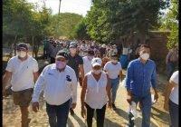 Familias de las Trancas respaldan al candidato del PES Carlos Carrasco
