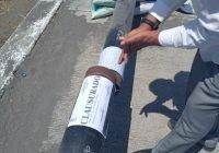 Ayuntamiento de Tecomán clausura tubería del gasoducto de Infonavit Las Palmas