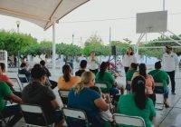 Seguridad y un predial más accesible, solicitan vecinos de Primaveras a Yolanda Llamas