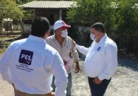 Zinacamitlán recibe con entusiasmo a los candidatos Carlos Carrasco y Uriel Acevedo en su visita