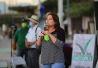 Promoverá Yolanda Llamas la instalación de sanitarios públicos para canchas deportivas