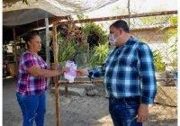 En Chamila manifiestan su respaldo al candidato Carlos Carrasco