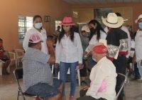 Ejido Cofradía de Juárez nos invitó a dar a conocerles nuestro Plan Armería; Haydeé Rodríguez