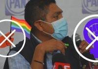 Firma Jorge Luis Preciado, decálogo contra derechos de las mujeres y personas LGBTTTIQ+