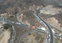 Patios irregulares, responsables del caos vehicular de carga pesada