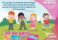 Sonia López se compromete a impulsar la protección y derechos del futuro de México, los niños y niñas