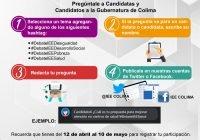 Haz tus preguntas para el debate entre candidatas y candidatos a la Gubernatura; tienes hasta el 10 de mayo