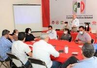 Dirigencia Estatal del PRI efectúa reunión de trabajo con candidatos, enlaces jurídicos y financieros