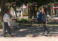En el Jardín Núñez de Colima, hombre de 60 años pierde la vida