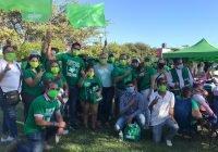 Visita Carlos Zepeda la colonia Marimar