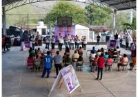 Carlos Carrasco continúa visitando la zona rural de Ixtlahuacán como arranque de campaña