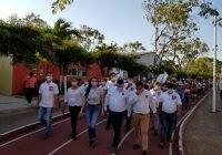 Gran respaldo de las familias de la cabecera municipal a Carlos Carrasco
