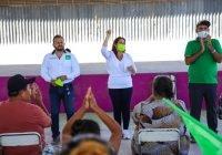 Familias de Cerro de Ortega y Cofradía de Morelos piden a Yolanda Llamas mejorar servicios de salud