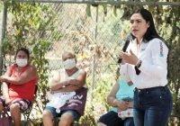 Voto masivo por Morena para iniciar el cambio, pide Indira