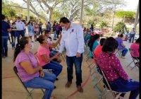 Respaldan en la Tunita Y 26 de JULIO el proyecto del candidato Carlos Carrasco