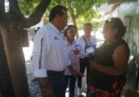 """Promete """"Chamuco"""" Anguiano rescatar campo deportivo, áreas públicas y calles en la Ponciano Arriaga"""