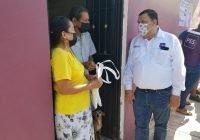Inicia el candidato Carlos Carrasco visitas domiciliarias en la cabecera municipal