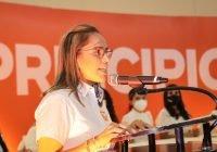Quien encabeza la Chiquimafia en Colima se llama Indira Vizcaíno: Magda Ureña