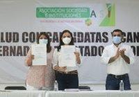Ofrece Mely combate a corrupción y apoyo a trabajadores de salud