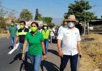 En Solidaridad, muestran respaldo a Karina Heredia por ser 100% villalvarense
