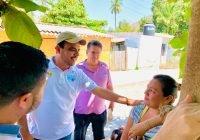 Compromiso de Martín Pinto legislar para que se reduzcan tarifas de predial