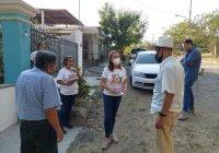 Tey visita comunidades rurales de VdeA y colonia La Reserva