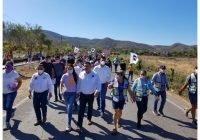 Culmina con éxito Carlos Carrasco visita domiciliaria en la cabecera municipal