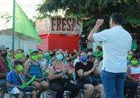 El proyecto Verde es el único que puede devolver con trabajo y resultados el apoyo de la gente: Virgilio