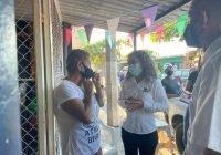 Promete Lupita Vidales apoyo sin restricción para un centro de hemodiálisis en Tecomán y para que haya medicamentos suficientes