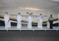 La Secretaría de Marina-Armada de México conmemora el CVII aniversario de la gesta heroica del puerto de Veracruz, en Manzanillo
