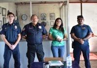 Devolver presupuesto a Bomberos, actualización del Reglamento de Protección Civil y Atlas de Riesgo; compromisos de Karina Heredia