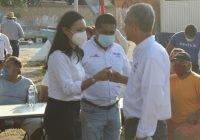 Candidatos de la coalición Va por Colima se reúnen con pescadores de El Tajo, Manzanillo