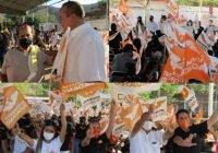 En Cofradía de Juárez respaldan la fórmula que encabeza Ernesto Márquez