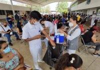 Culmina con éxito jornada de vacunación anti-COVID para trabajadores de la educación