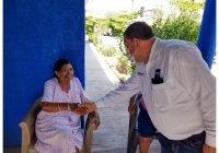 En su visita a la cabecera municipal Carlos Carrasco reafirmó su compromiso con la salud