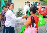El verde Tecomán continúa generando compromisos con comerciantes locales