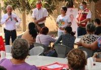 Óscar Ávalos visita Líderes del distrito 9