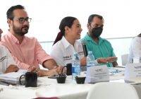Reitera Indira respaldo total a empresarias y empresarios en Manzanillo