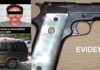 Caen dos más por posesión de arma de fuego