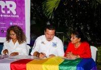 """En el día contra la Homofobia, """"Chamuco"""" Anguiano se compromete a defender sus derechos y libertades"""