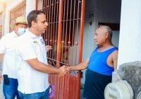 Apoyo al campo y programas de empleo temporal, son las principales demandas en ixtlahuacan: Martin Pinto
