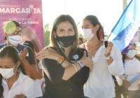 Margarita Moreno obtiene gran respaldo de la zona sur de Colima