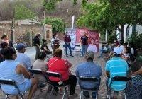 Habitantes de comunidad Cofradía de Juárez respaldan proyecto de Diana Zepeda y Sonia Hernández