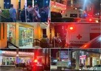 Asaltan farmacia Guadalajara frente a Aurrera en Tecomán; se reportan detonaciones