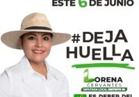 Lorena Cervantes crece en las preferencias electorales por el distrito 10 de Tecomán