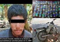 Cae vendedor de droga en el Chavarín