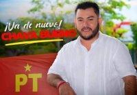 Chava Bueno ya es candidato del PT a la alcaldía de Armería; buscará reelegirse
