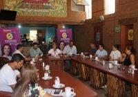 Se reúne Tey Gutiérrez con comerciantes y restauranteros del jardín de La Villa