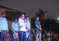 Yolanda Llamas cierra en grande su campaña en Tecomán
