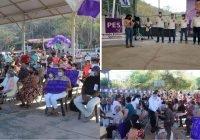 En Jiliotupa y Tamala, Carlos Carrasco y Uriel Acevedo ponen en marcha la segunda etapa de campaña
